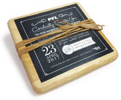 Cutting Board Invitation