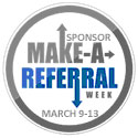 make a referral week graphic