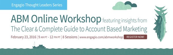 Engagio ABM Online Workshop