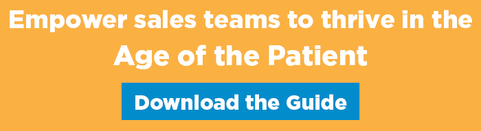 empower sales teams to thrive in the age of the patient
