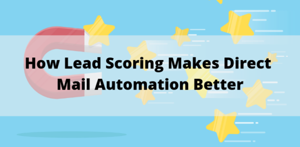 Lead Scoring and Direct Mail Blog Post Featured Image