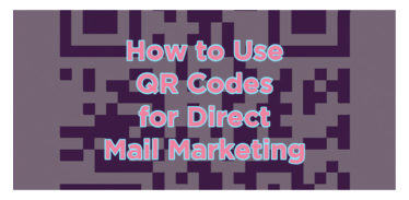 How to use QR codes for direct mail marketing