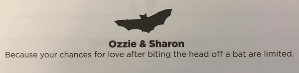 ozzie and sharon