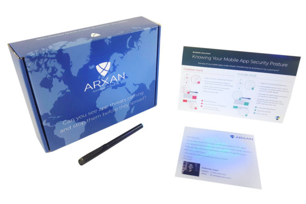 Arxan hidden message direct mail kit