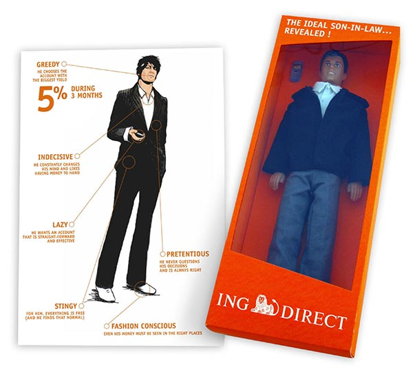 ING Direct Mail Example