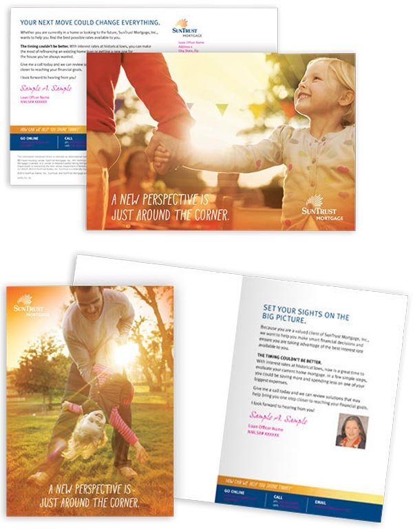 Sun Trust Mortgage Direct Mail Example