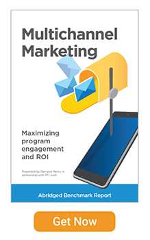 Get the Multichannel Marketing Report.