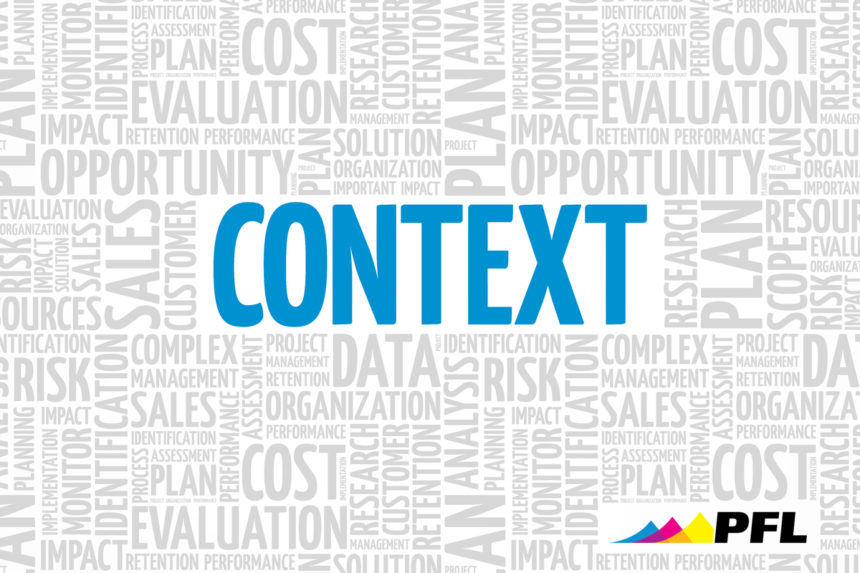Context Marketing means understanding your audience's actions, feelings, and thoughts.