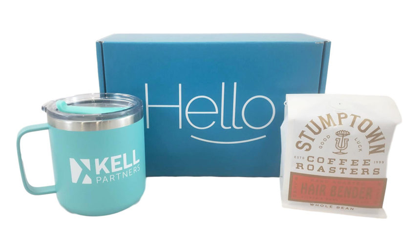 This welcome kit from KELL partners is sustainable and smells delicious upon opening.