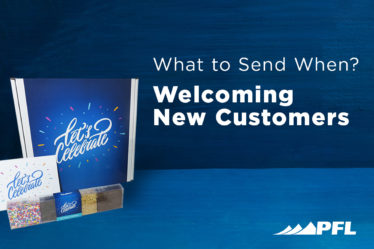 Welcoming new customers using strategic tactile marketing is a strong ABM strategy.