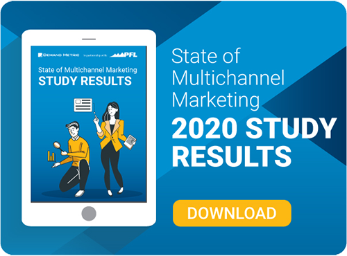 Thumbnail for downloading the 2020 State of Multichannel Marketing Report
