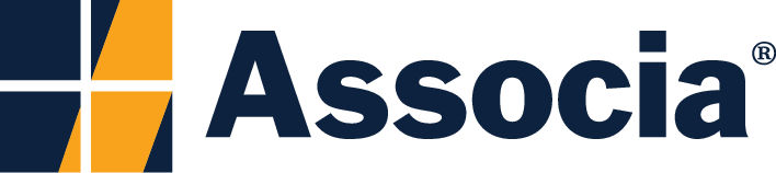 The logo for Associa