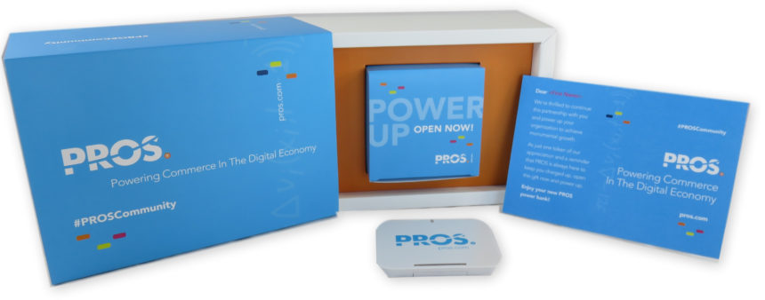 PROS is showing loyal customers how much they're appreciated with this kit that includes a cell phone charger.