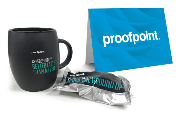 Proofpoint uses clever messaging in kits to engage contacts.