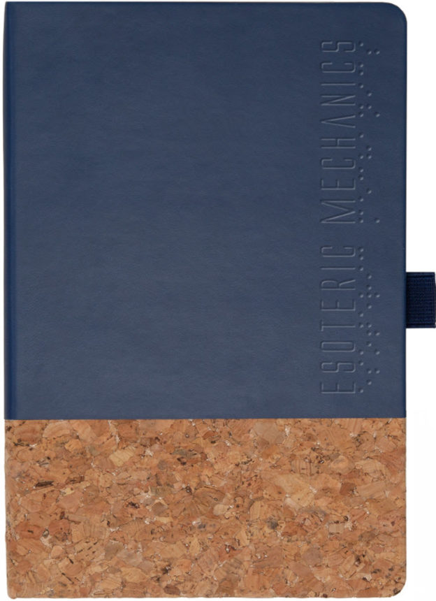 This hard-bound journal is a helpful and stylish.